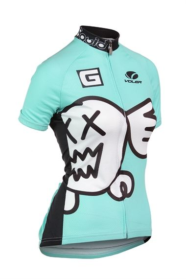 Squid Bikes jersey. Awesome project out of Sacramento, CA