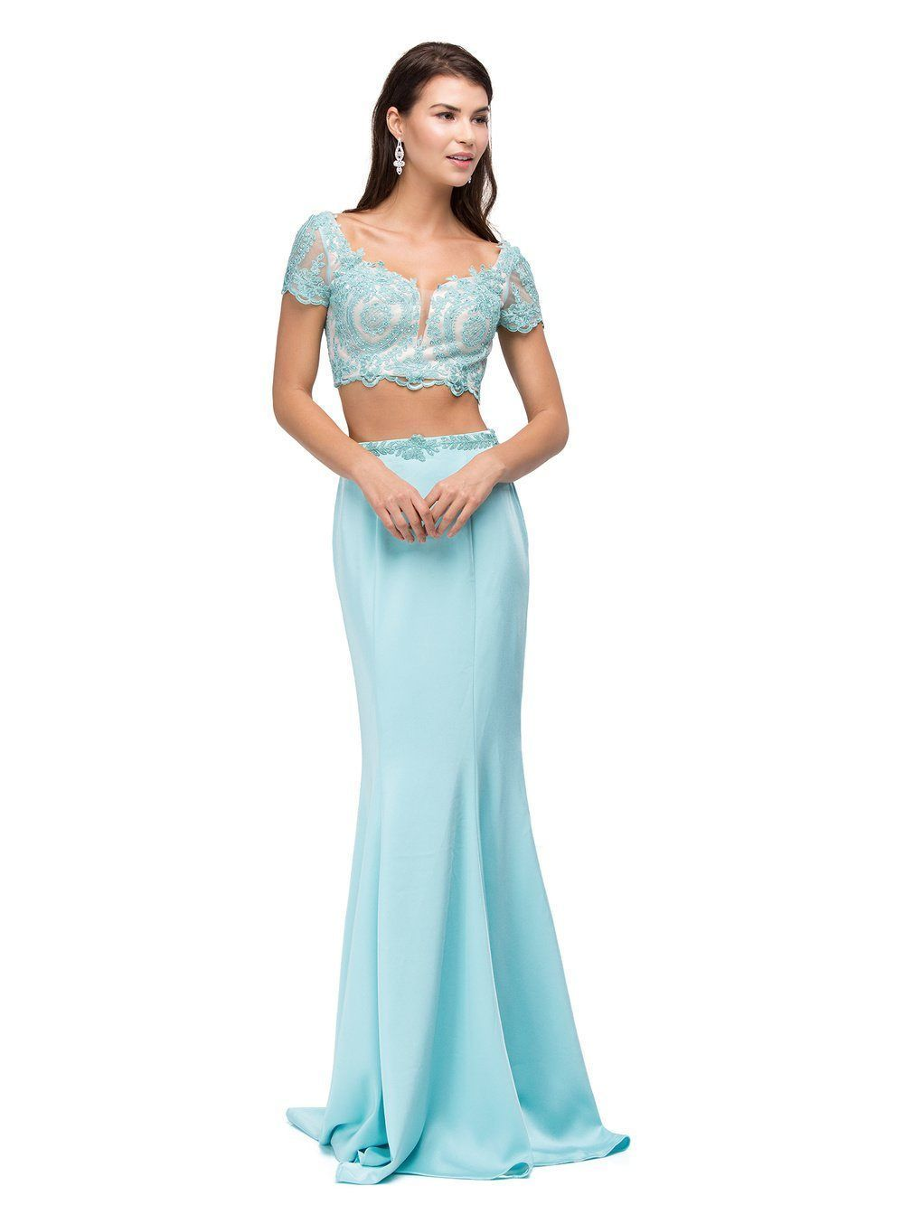 Long piece homecoming dress dq homecoming dresses and products