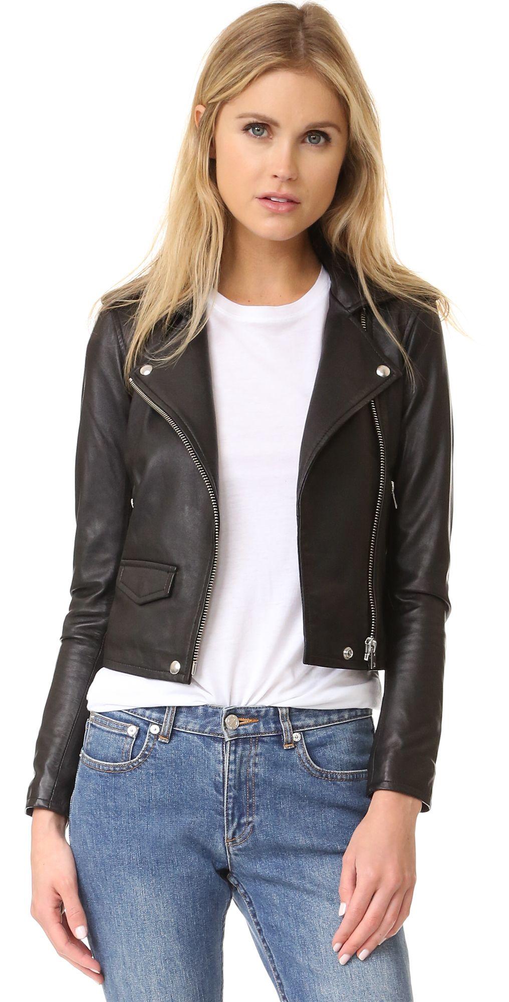 Iro Ashville Leather Jacket Leather Jackets Women Iro Leather Jacket Leather Jacket [ 2000 x 1016 Pixel ]