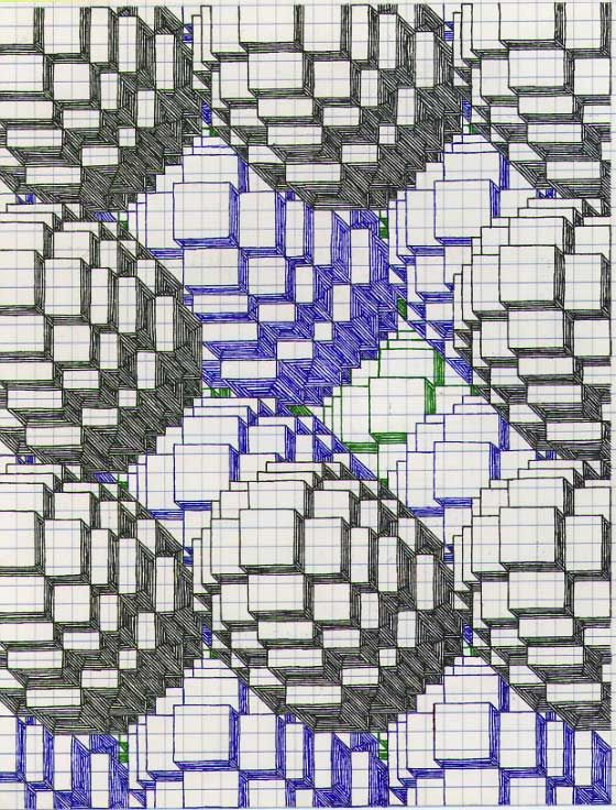 Drawing Using Grid Lines : Graph paper drawings of cartoons glassonion