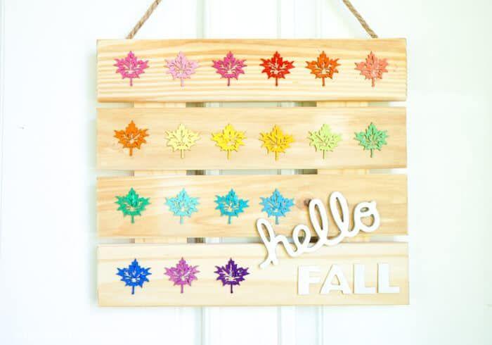 Fall DIY Sign #hellofall