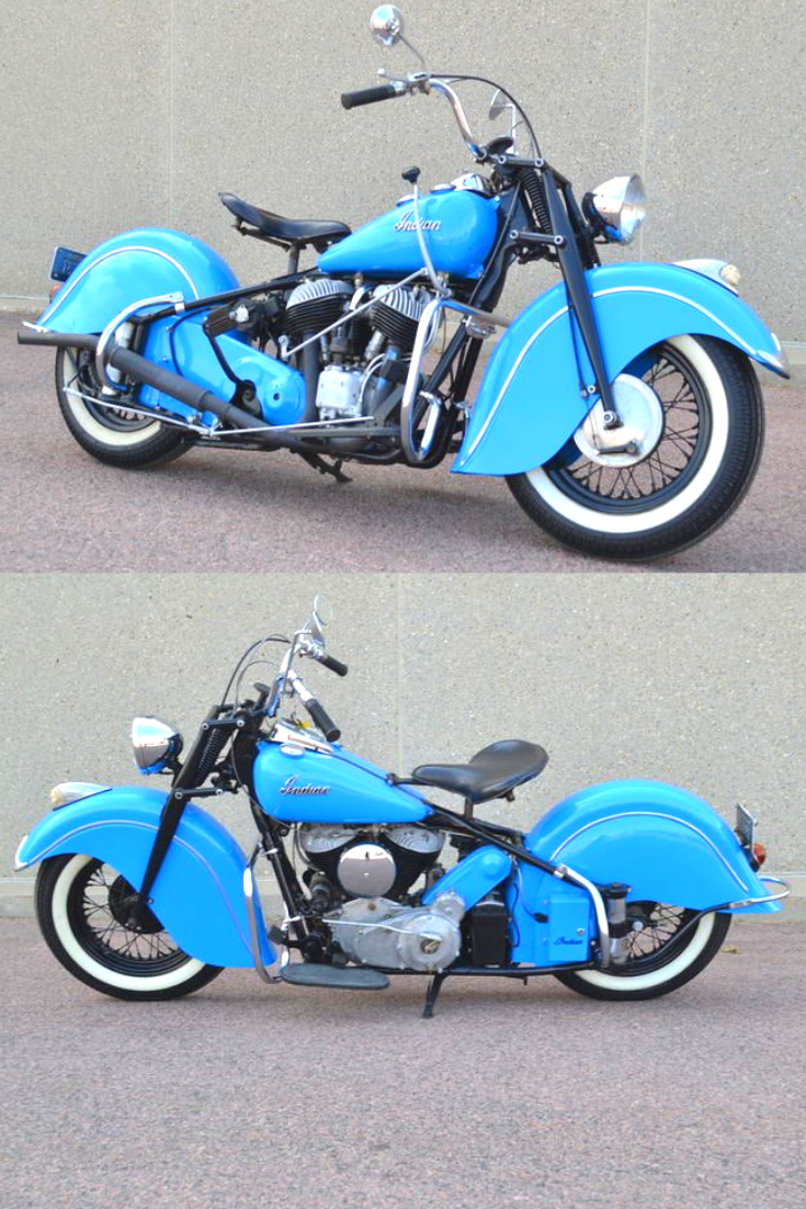 1946 Indian Chief Indian Motorcycle Indian Motorbike Vintage Indian Motorcycles