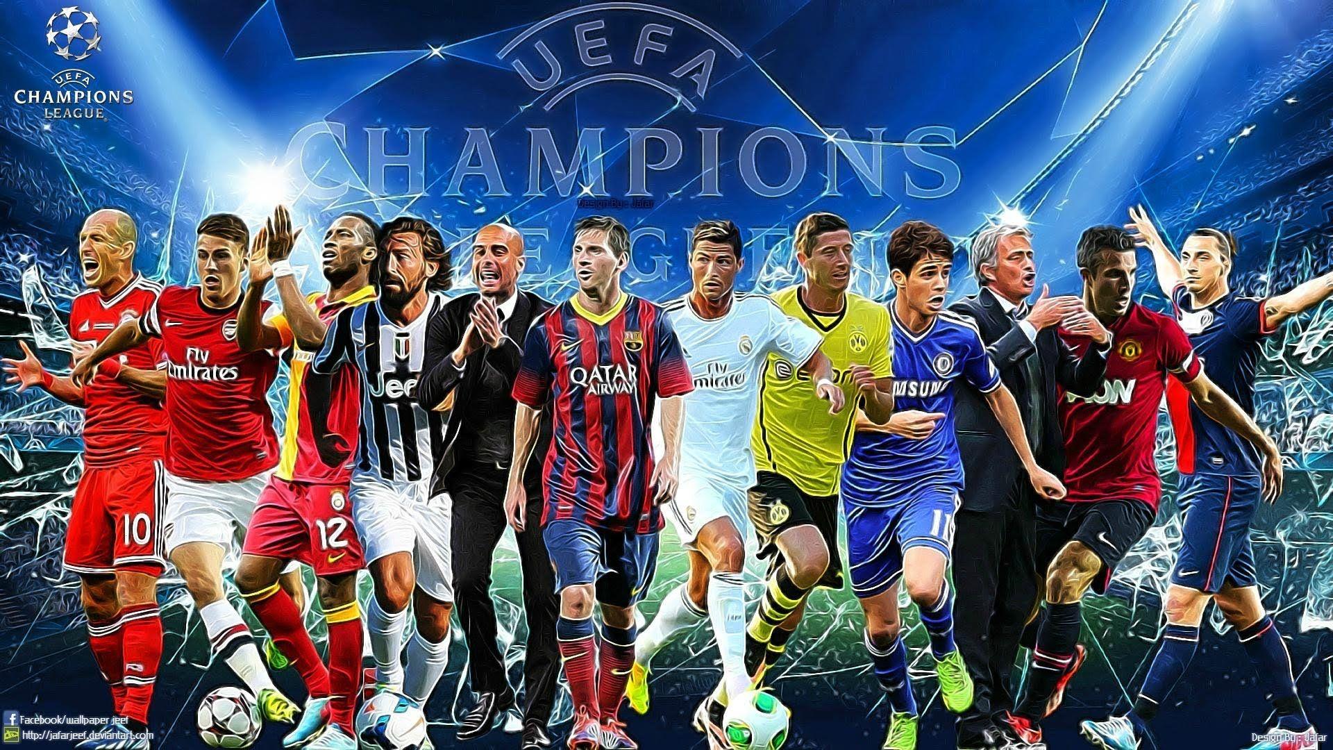 Football Pitch Hd Desktop Wallpaper Widescreen High Definition 768 480 Wallpaper Football 44 Wallpapers A Uefa Champions League Champions League League