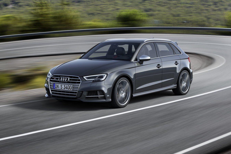 Ganse Audi A3familie in 't nieuw Audi a3, Audi