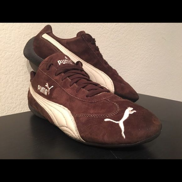puma driving shoes suede