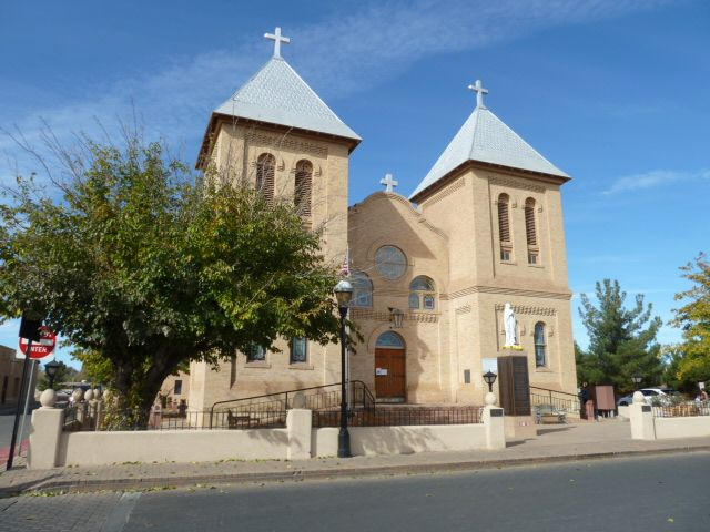 San Albino Church is on the Plaza in Mesilla,NM. Really worth a visit. Mesilla is where the Gadsden Purchase was signed.