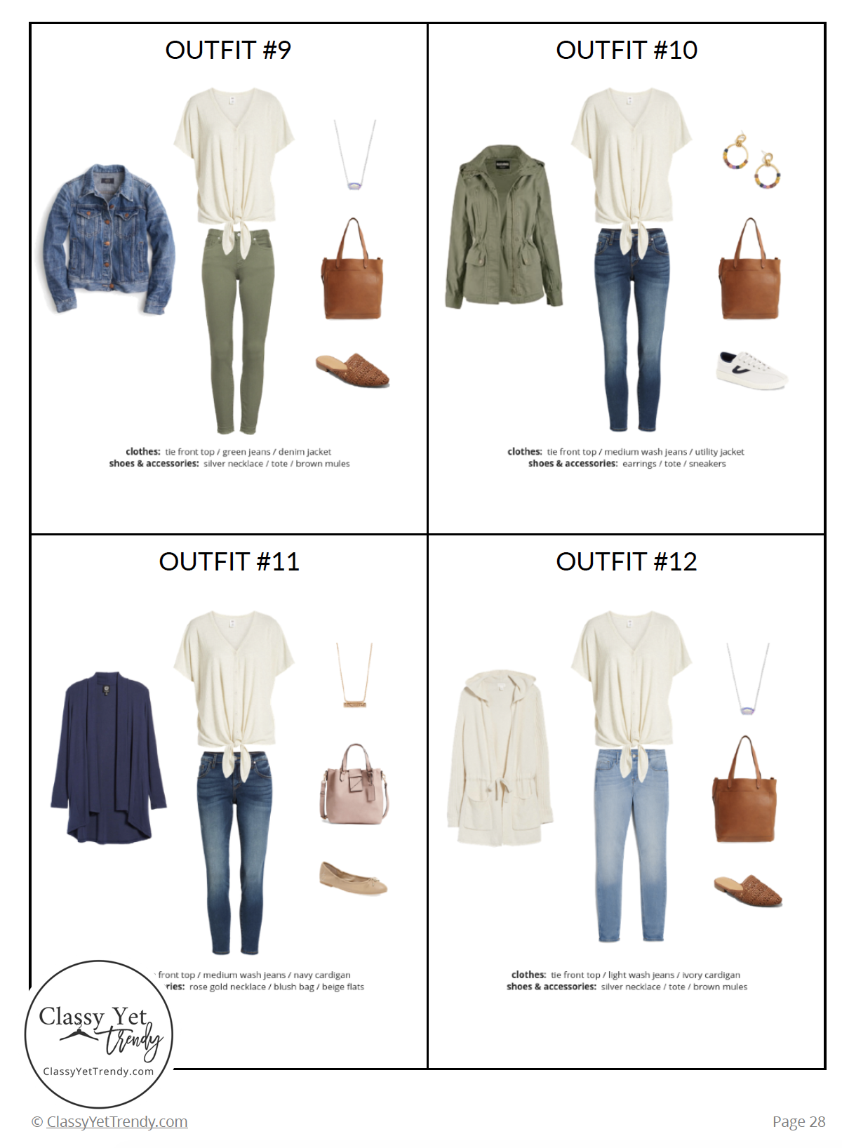 f1fb699a6310 The Stay At Home Mom Capsule Wardrobe: Spring 2019 Collection in ...