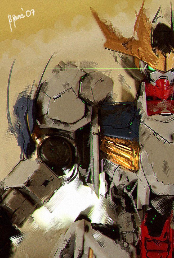 Ibo Fanart Lupus Rex By Benedickbana Deviantart Com On Deviantart Gundam Art Barbatos Lupus Rex Gundam Iron Blooded Orphans