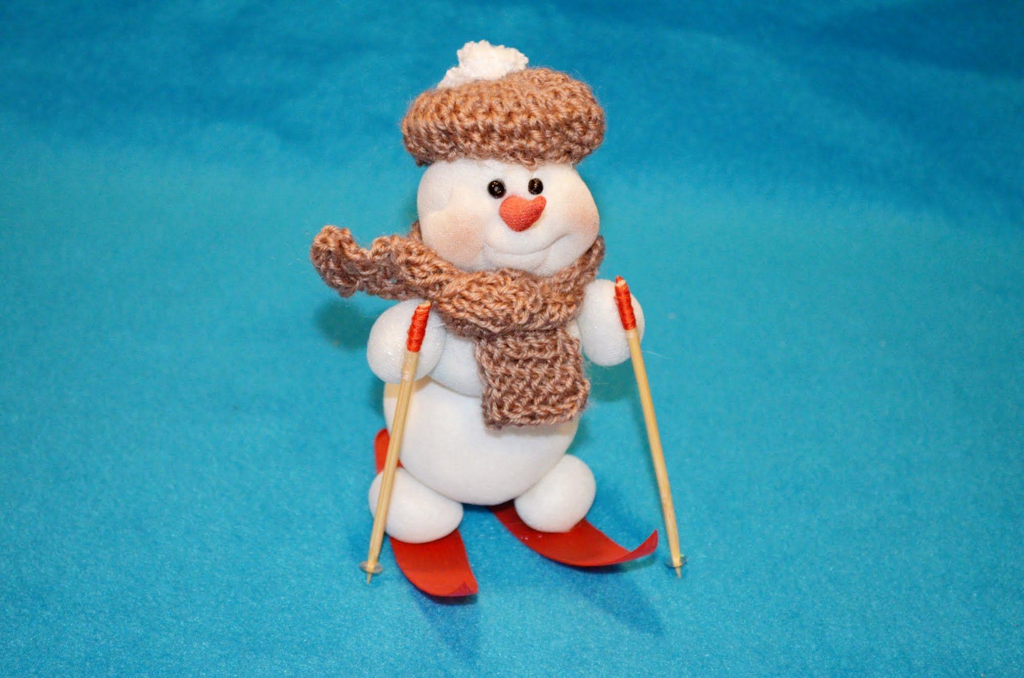 Игрушки своими руками снеговики из 672