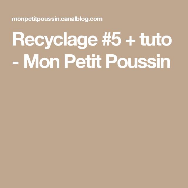 Recyclage  5 + tuto - Mon Petit Poussin   Petit poussin, Poussins et ... dcd2c42fb6d