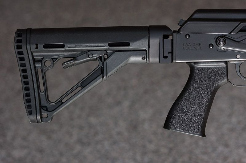 M4Carbine net Forums - AR stock on an AK using ACE conversion  ACE