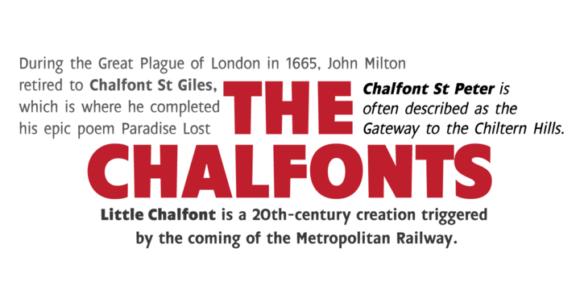 Download Chalfont Family Sans Serif Fonts