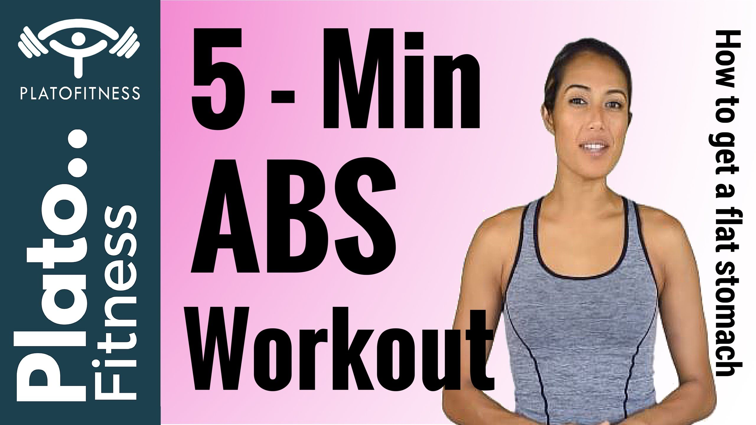 Home Abs Workout Learn how to get a abs, get a flat stomach and loose weight at the same time, Just follow along here with Marine at Plato Fitness. www.youtube.com/watch?v=btN_akdY1_k