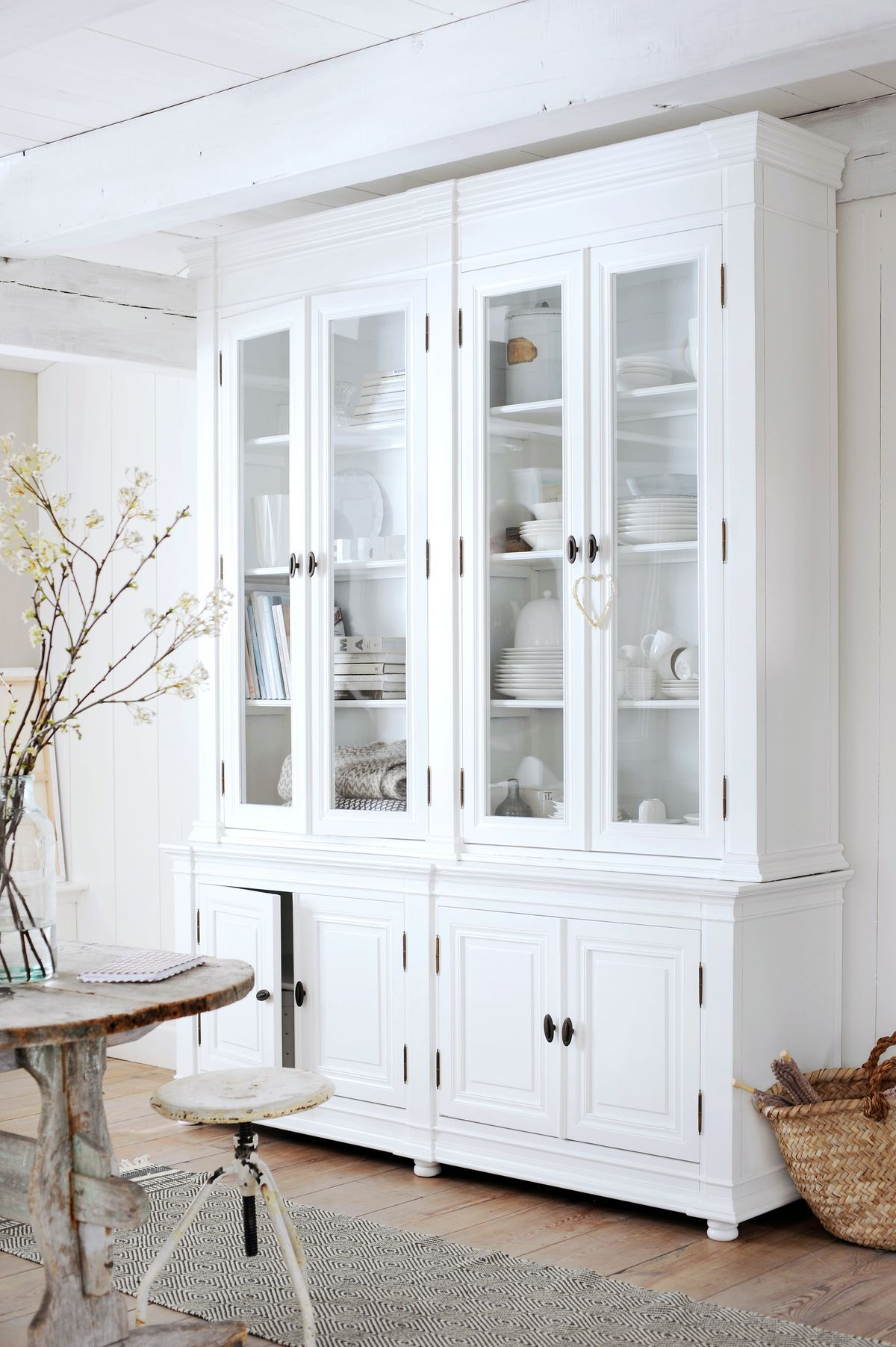 Think Abaout The Mrsfisher Pieces In Just White Inside And Out Extraordinary White Kitchen Hutch Review