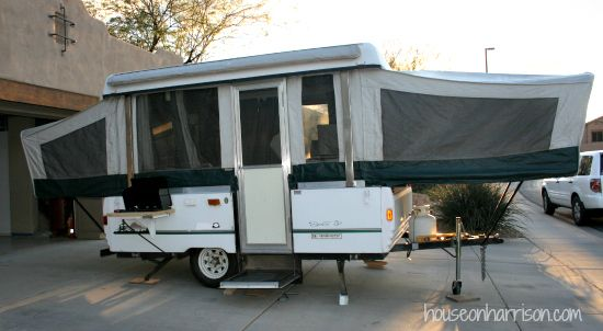 Pop Up Camper Remodel Repairing A Coleman Abs Roof