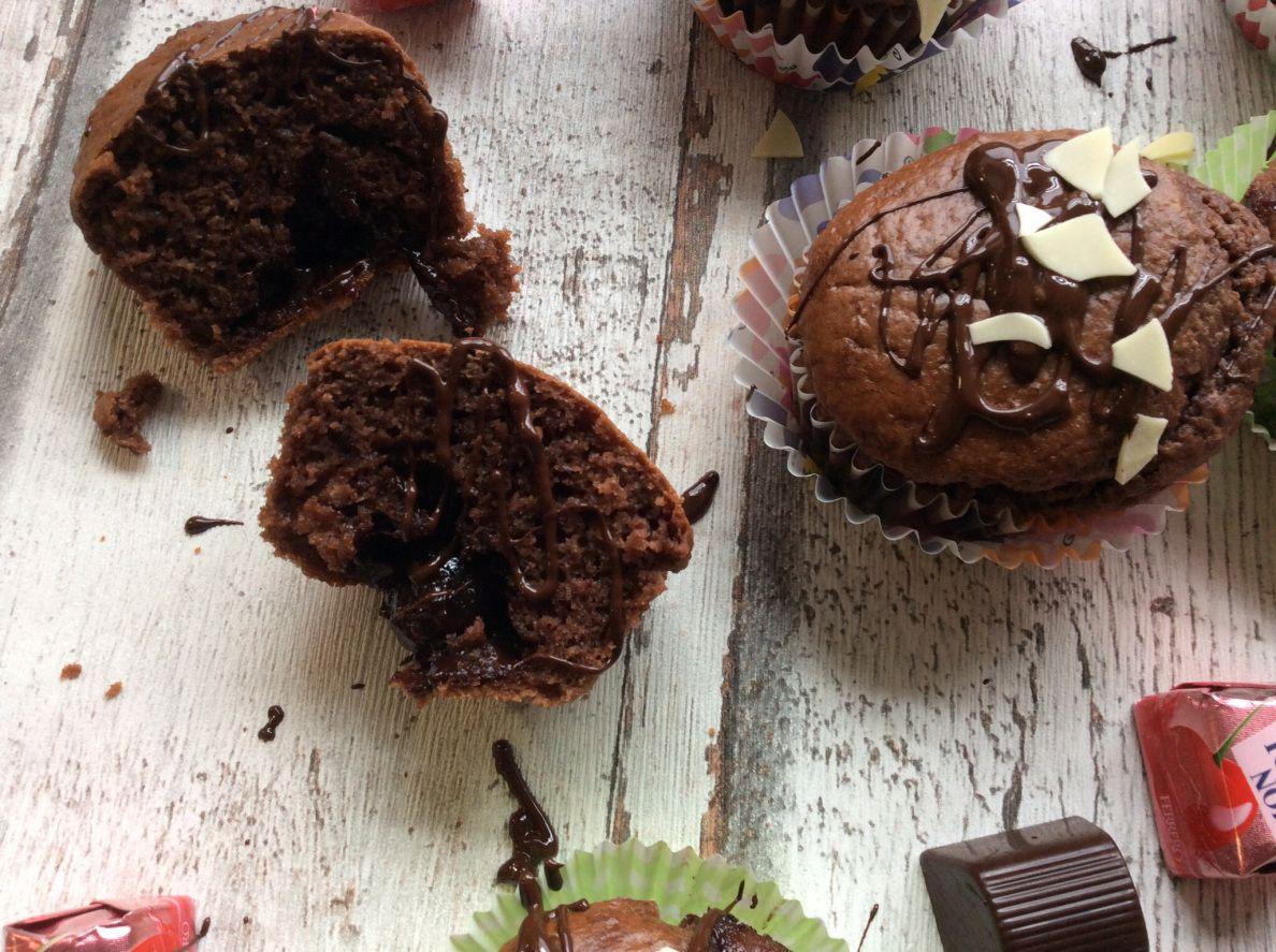 Mon Cherie Schoko Muffins I Lonas Kreativ Atelier Pinterest