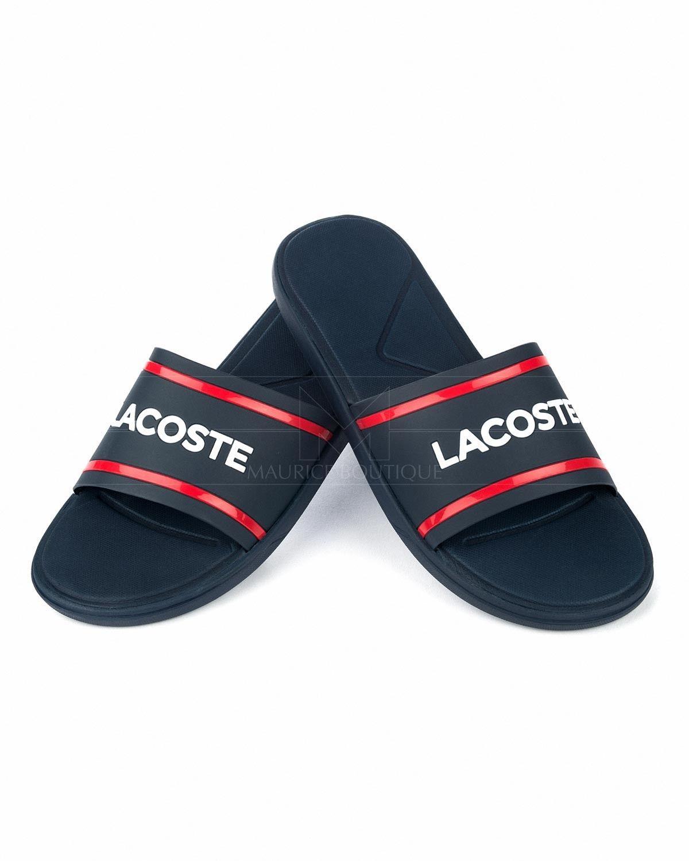 Interconectar dinastía Nylon  LACOSTE SHOES Chanclas Lacoste - Azul Marino & Rojo | Zapatillas nike para  hombre, Zapatos lacoste, Chanclas nike mujer