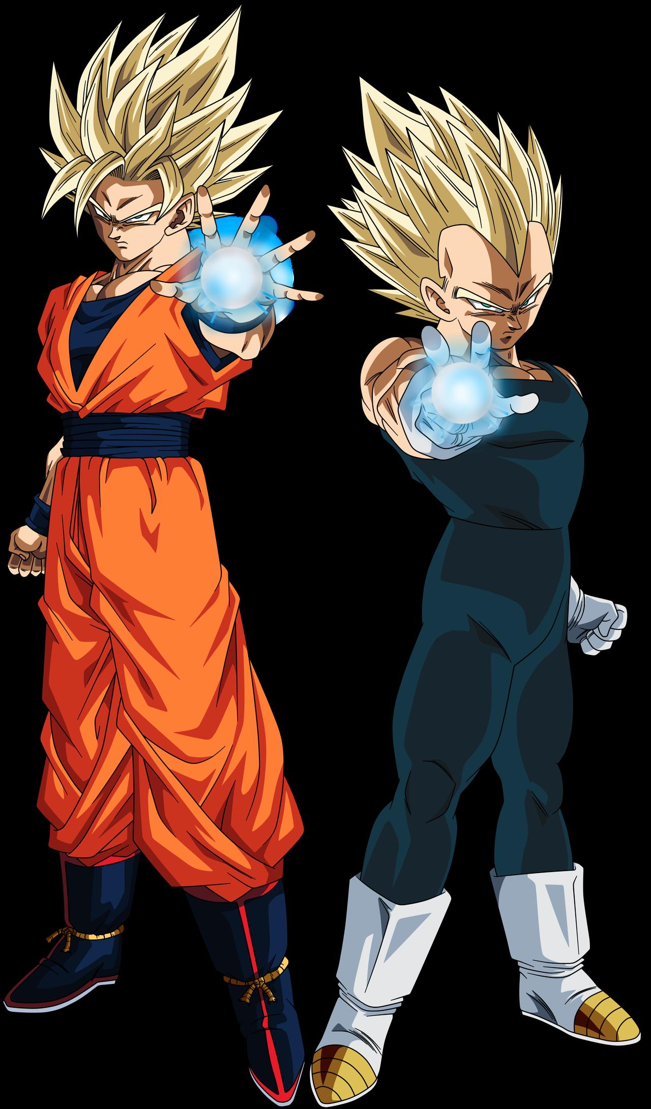 Goku Super Saiyan 2 And Vegeta Super Saiyan 2 By Crismarshall On Deviantart Dragon Ball Super Manga Dragon Ball Goku Anime Dragon Ball Super