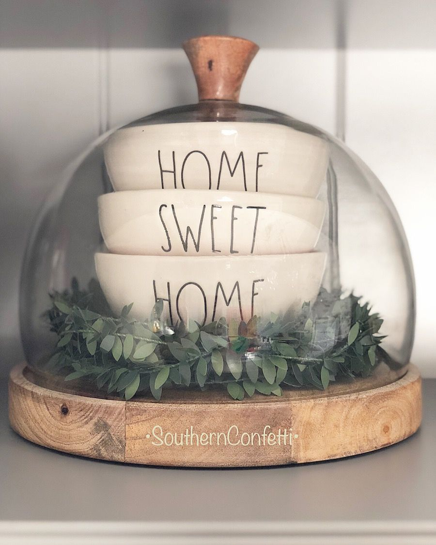 The Perfect Rae Dunn Bowl Trio Home Sweet Home All