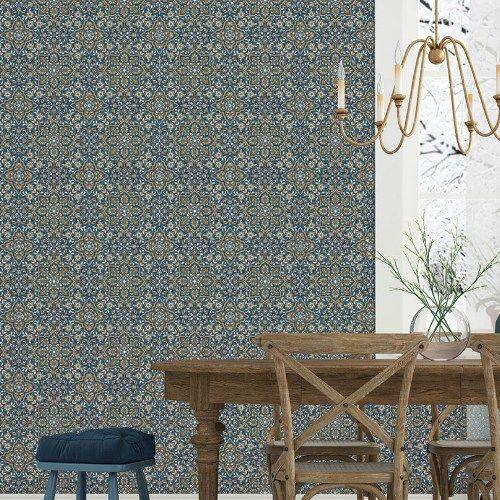 Floral Tile Wallpaper Wallpaper Books Tile Wallpaper