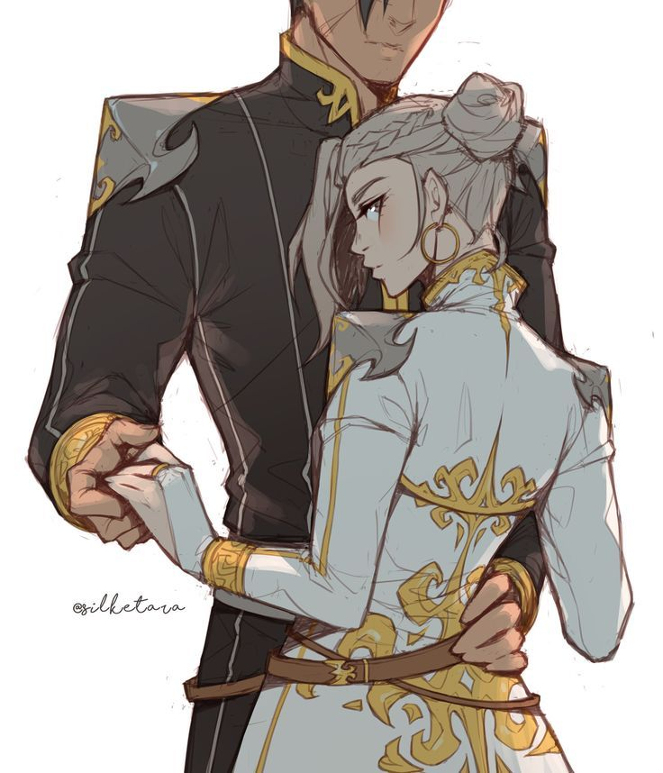 Photo of ✨ Yeah… The Queen and her General sounds nice I'm too invested in this AU pl…