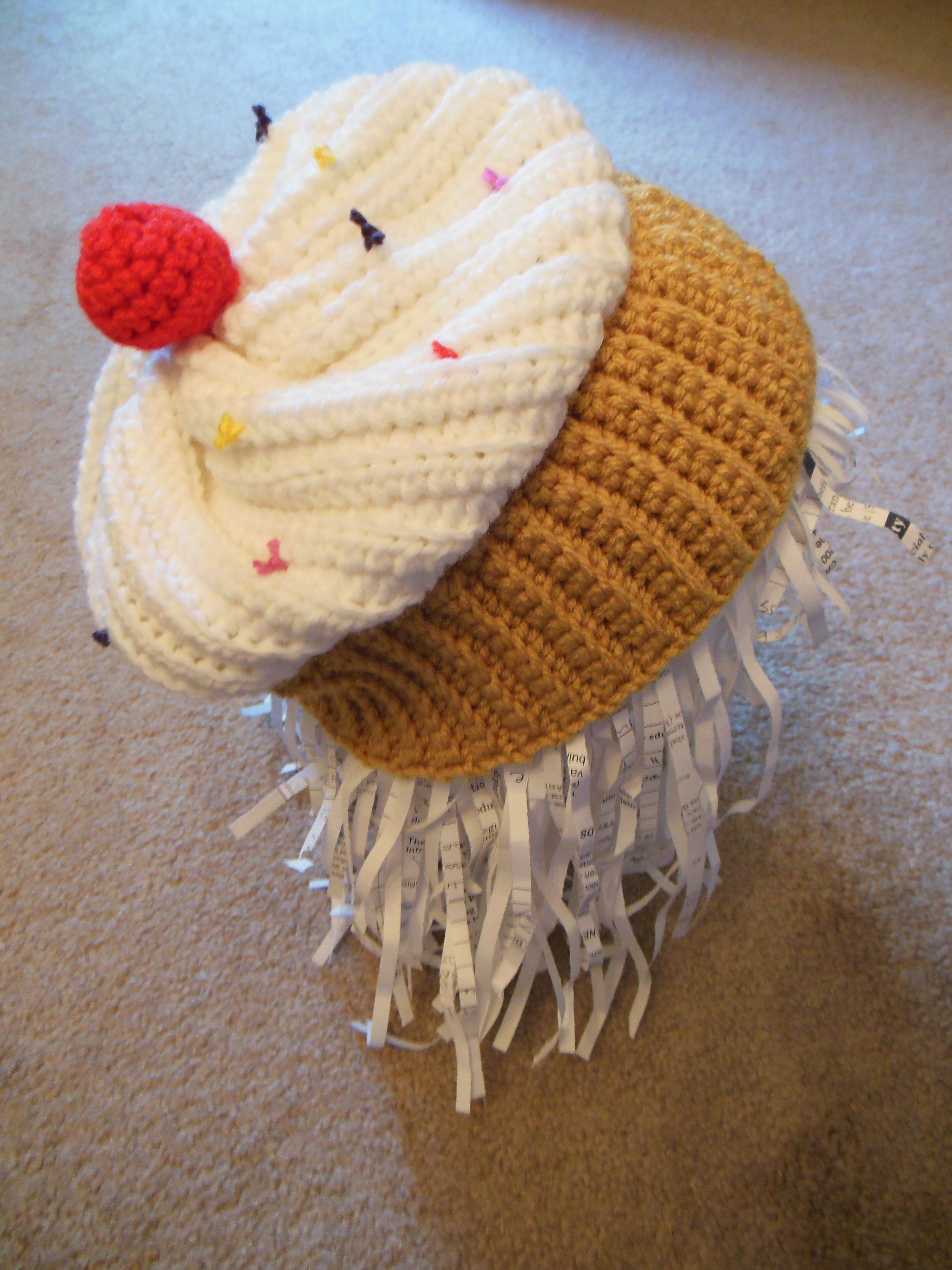 My crocheted cupcake hat using twinkie chans pattern found in my crocheted cupcake hat using twinkie chans pattern found in twinkie chans crochet goodies for bankloansurffo Images