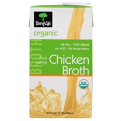 Tree of Life Broth, Chicken Organic, 32 Ounce (Pack of 12) - http://goodvibeorganics.com/tree-of-life-broth-chicken-organic-32-ounce-pack-of-12/