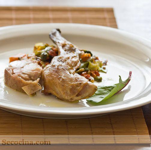 Conejo confitado platos cocina pinterest food food forumfinder Gallery