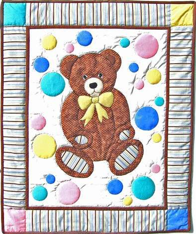 Teddy Bear's Paw Ouilt Pattern - Free Quilt Patterns, Free