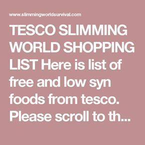 Pin By Lynn Quanbrough On Weightwatchers Stuff Slimming World