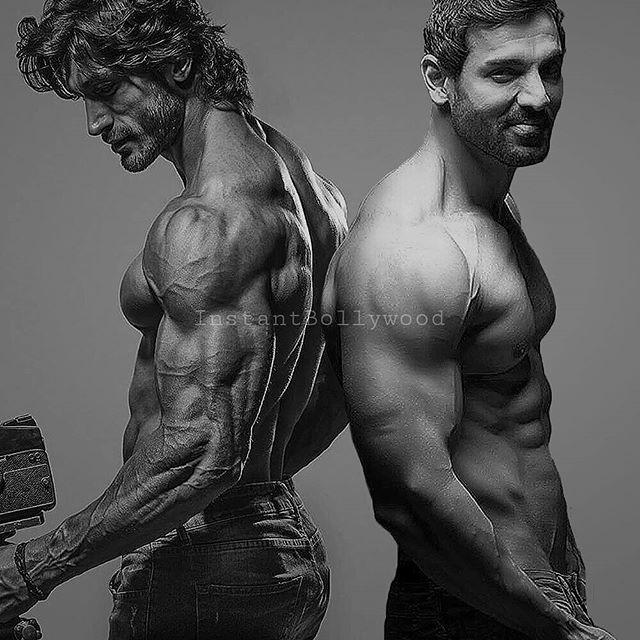 Instagram Photo By 1 5m Instant Bollywood Aug 8 2016 At 7 27pm Utc Vidyut Jamwal Body John Abraham Vidyut Jamwal