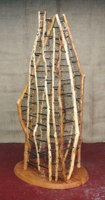 stephen adams // wood and glass sculpture. beautiful.