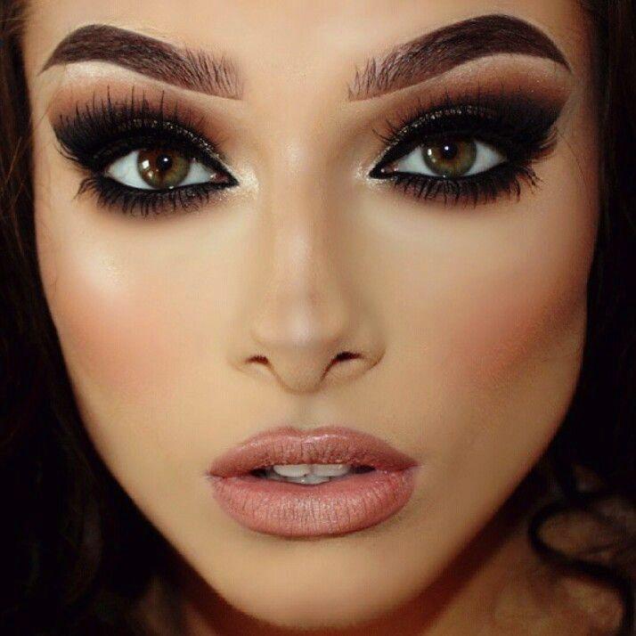 maquiagem iluminada 9 | Make Up | Pinterest | Makeup, Hair makeup ...