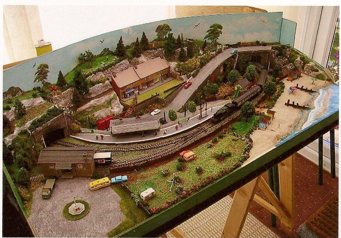 scenery for model train layouts | Small Model Railroad ...
