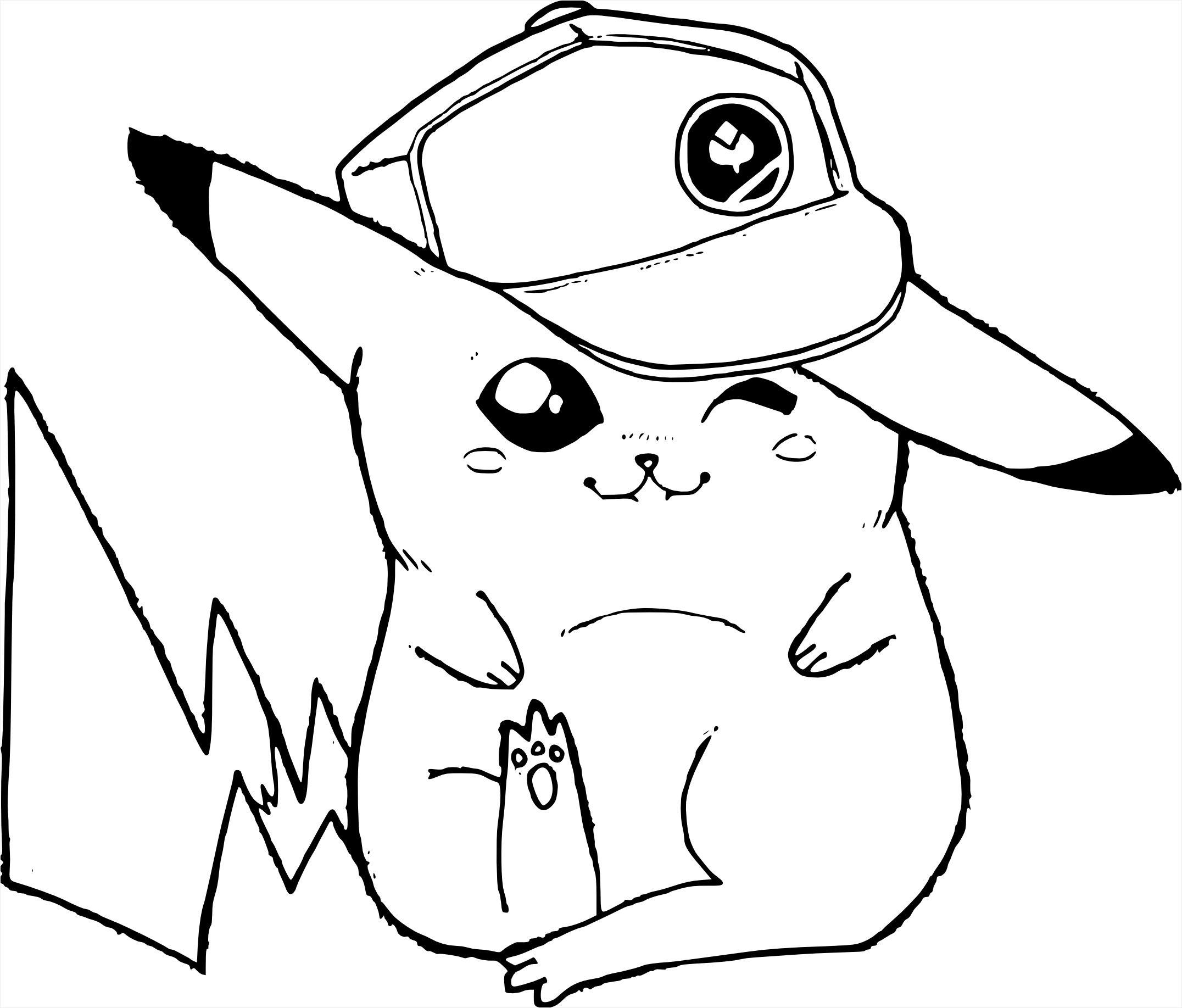 Coloriage Pikachu Mignon De Dessin Coloriage Pikachu Symcomp