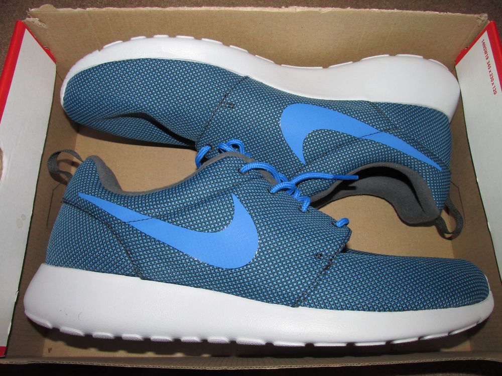dd421b376f02 Nike Roshe Run One PRM Premium Mens Shoes Anthracite Photo Blue 525234 040   Nike  RunningCrossTraining