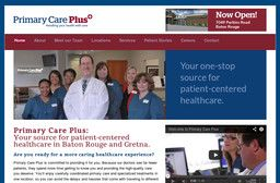 New Health Care Services added to CMac.ws. Primary Care Plus in Gretna, LA - http://health-care-services.cmac.ws/primary-care-plus/16837/