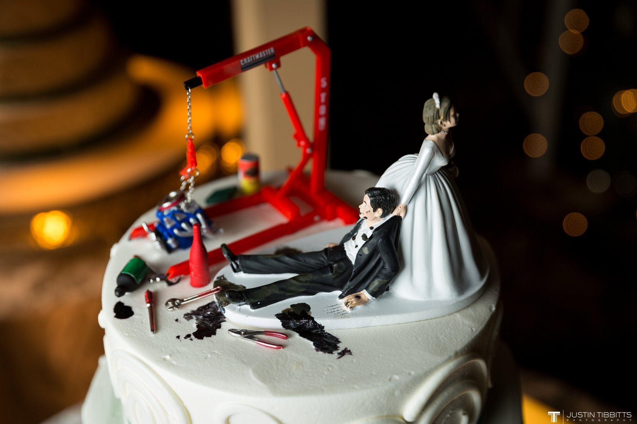 Reluctant Groom Car Mechanic Wedding Cake Topper The Wedding