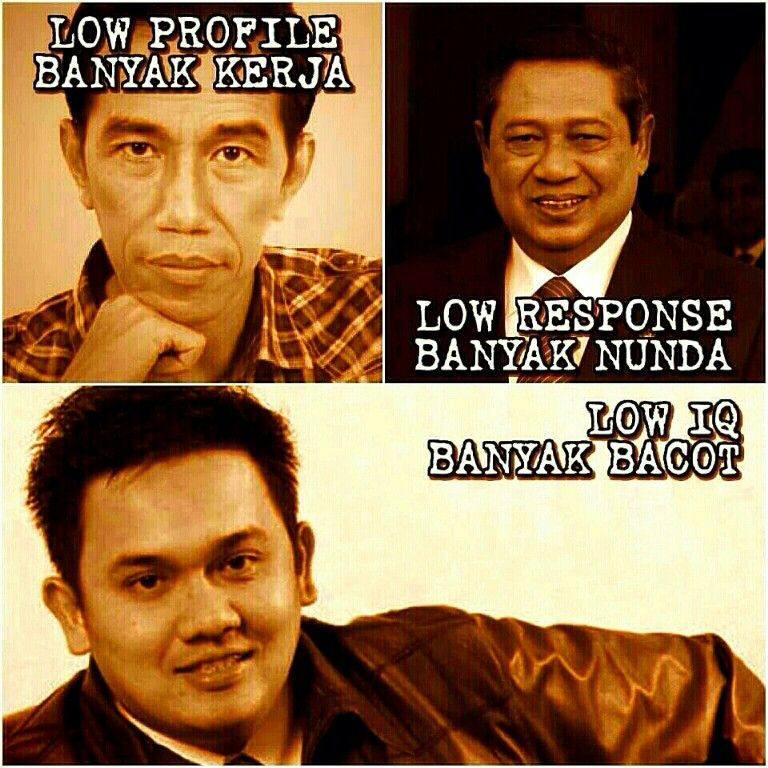 Perbandingan Calon Presiden Just Smile Funny Memes Jokes Indonesia Funny Pictures
