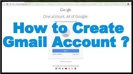 Creating A Gmail Account Is Not That Difficult As You Might Think With The Help Of A Guide You Can Set Up Gmail Account In No T Gmail Sign Up Gmail