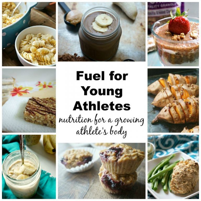 Fuel for Young Athletes What to feed a growing athlete #athletenutrition