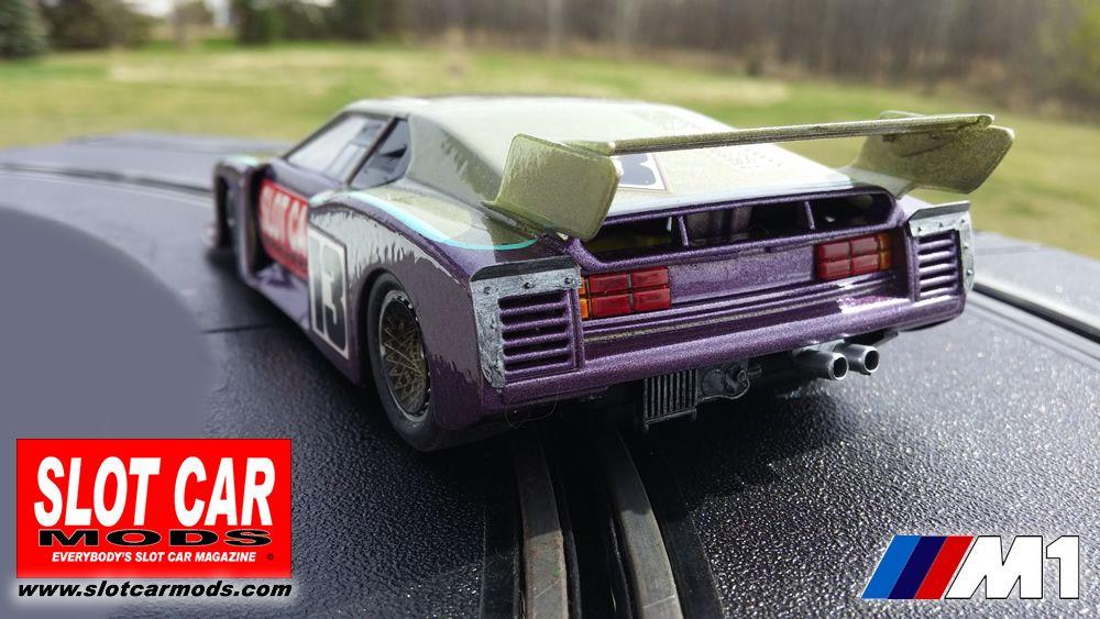 Racer Sideways Bmw M1 Group 5 White Kit Slot Car Mods The Body