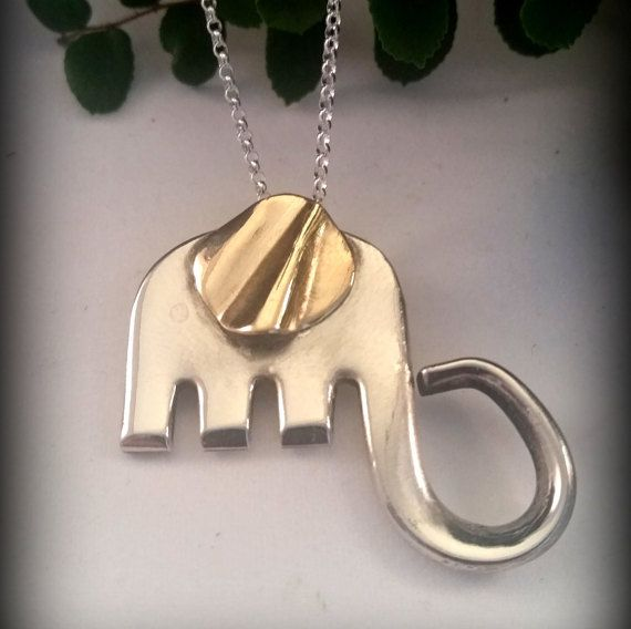 Finally getting some stuff listed on my etsy shop starting with this adorable elephant made from a fork!