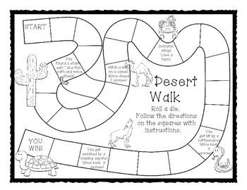 desert unit for early elementary preschool worksheets and deserts. Black Bedroom Furniture Sets. Home Design Ideas