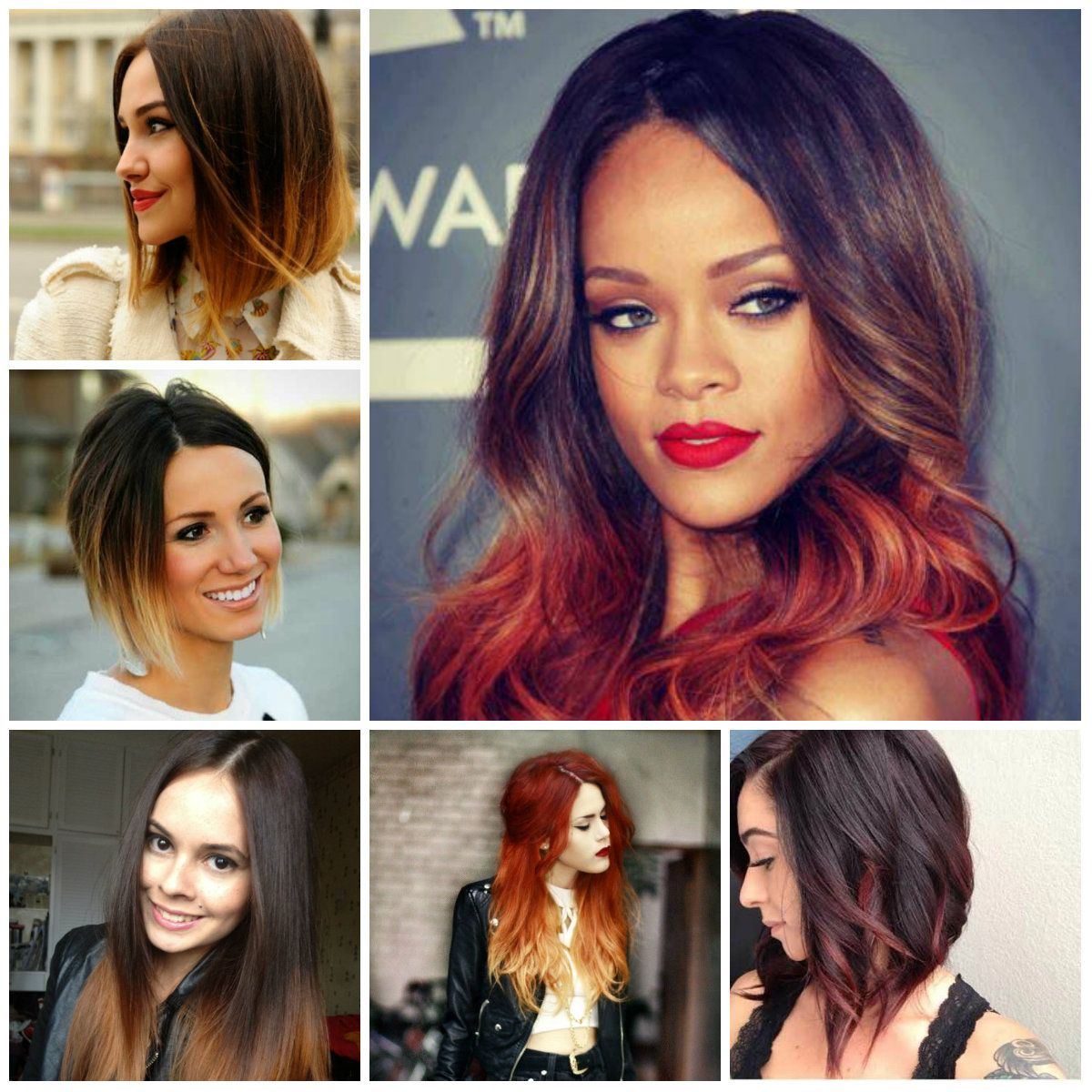 Hairstyles 2016 dark hair - Eunice Hair Sexy Ombre Color Virgin Remy Weft Human Brazilian Hair Extensions On Different Hairstyles
