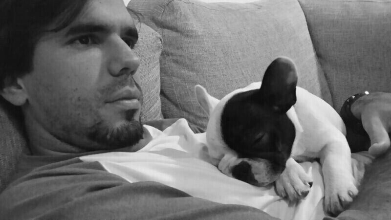 Nap with daddy!