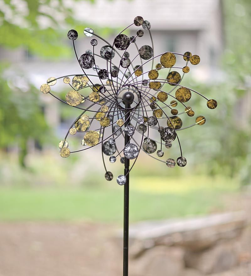 Gold U0026 Silver Dots Spinner | Wind Spinners