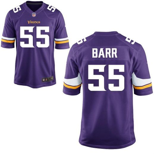 1a2ba4bb9 Nike Anthony Barr Minnesota Vikings Purple Game Jersey but obviously in  women s size small
