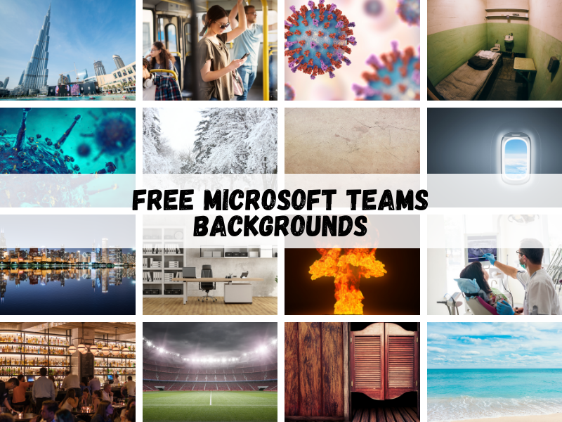 Best Free Microsoft Teams Backgrounds to the
