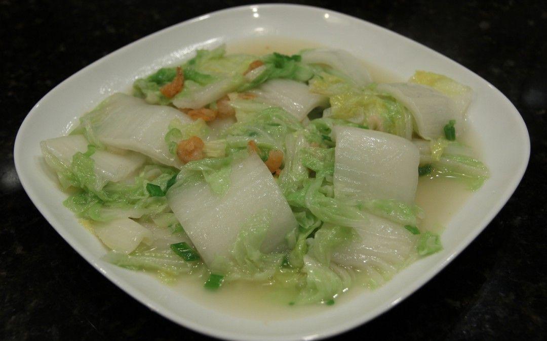 Napa cabbage with dried shrimp dried shrimp napa
